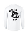 Twisted Fin White Logo T-Shirt