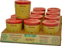 VOTIVE - MONEY - ROOT CHAKRA