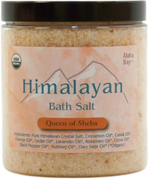 HIMALAYAN BATH SALT - QUEEN OF SHEBA
