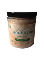 HIMALAYAN BATH SALT - MOUNTAIN MIST