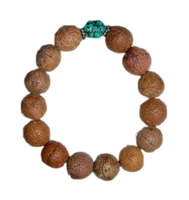Natural Bodhi Beads Wristband