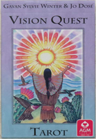 Vision Quest Tarot (New Cover Art)