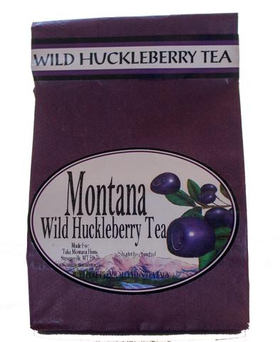 Wild Huckleberry Tea