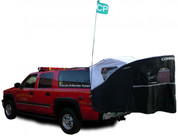 Full Package includes: tailgate canopy, front enclosure, brow cover, CP Flag/Light, Roof Mount Kit and SeamSure