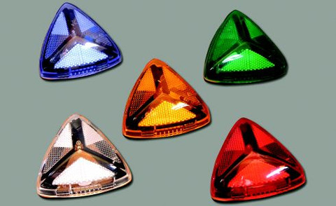 LED Colors Blue, Green, Amber and Red