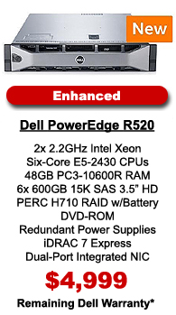 Dell PowerEdge R520 Enhanced Configuration