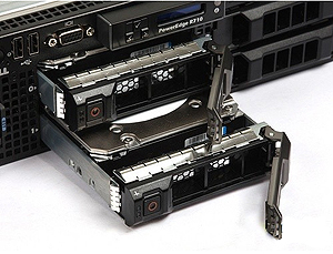 Dell PowerEdge R710 Hard Drives