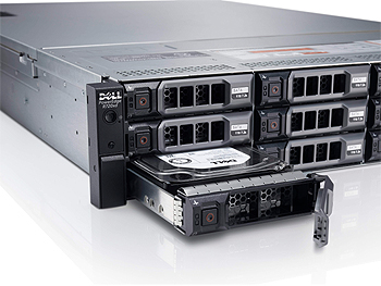 Dell PowerEdge R720xd Hard Drives