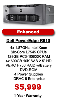 Dell PowerEdge R910 Enhanced Configuration