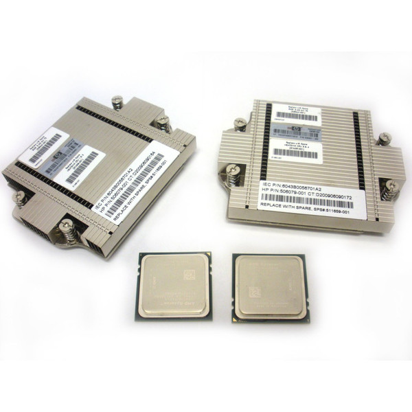 HP 539819-B21 539661-001 Opteron 8431 2.4GHz 6-Core Processor Kit 2P for BL685c G6