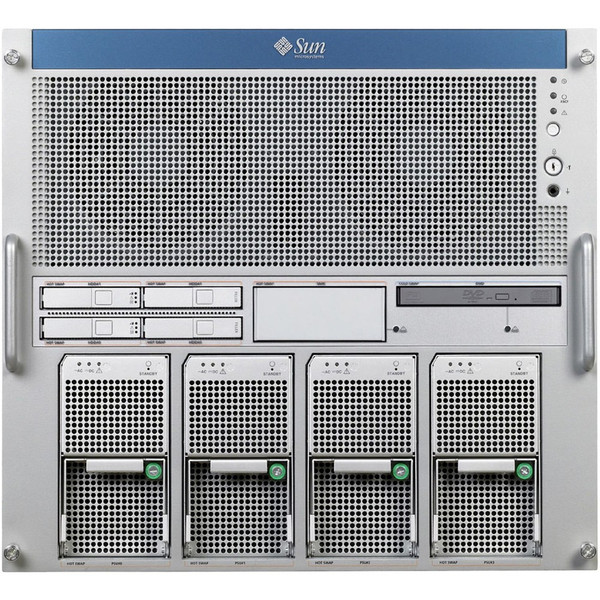 Sun M5000 8x 2.4GHz SPARC64 VII 128GB RAM 2x 146GB drives via Flagship Tech