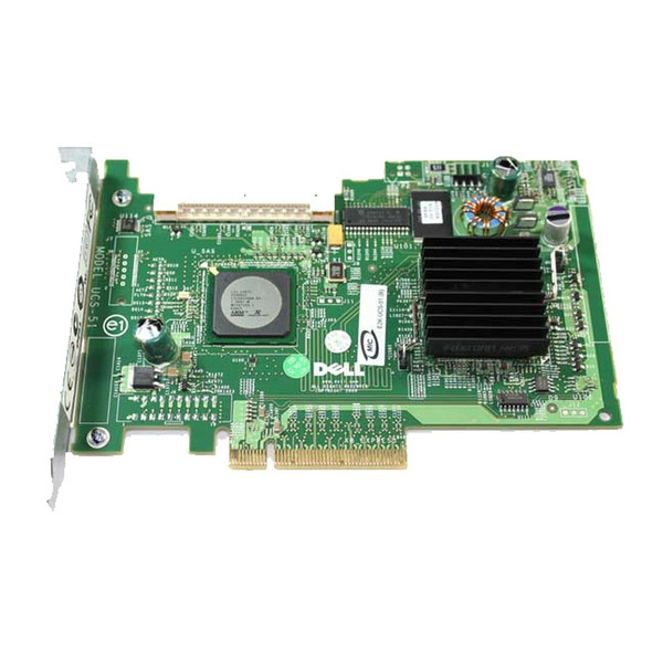 Dell PowerEdge PERC 5i/R PCIe SAS/SATA RAID Controller GU186