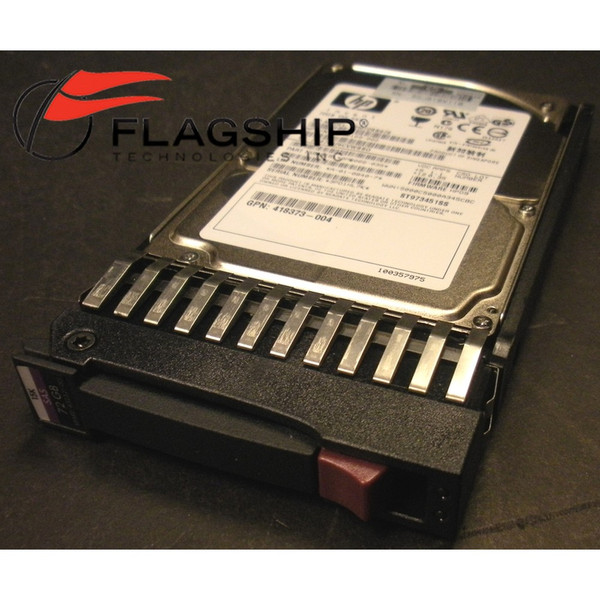 "AD379A HP 73GB 15K 3G SAS SP SFF 2.5"" HDD for rx2660/rx3600/rx6600 432321-001"