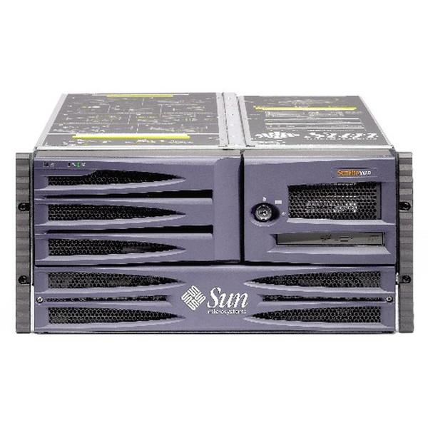 Sun A37-WTPF2-08GQB V480 Server 4x 1.2GHz 8GB 2x 36GB 10K DVD Drive Rack Kit