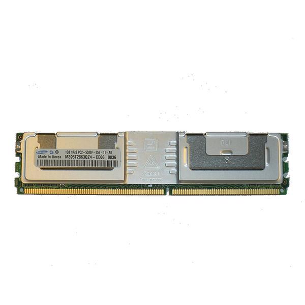 1GB PC2-5300F 667MHz 1RX8 DDR2 ECC Memory RAM DIMM G052C