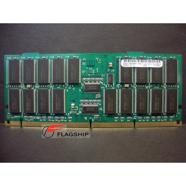 HP AB322-60001 AB322-69001 4GB SDRAM Memory DIMM for rp7420 rp8420 rx7620 rx8620