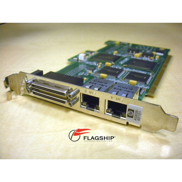 HP A5838A Dual Port 100Base-TX & Dual Port Ultra2 LVD/SE SCSI Combo Card