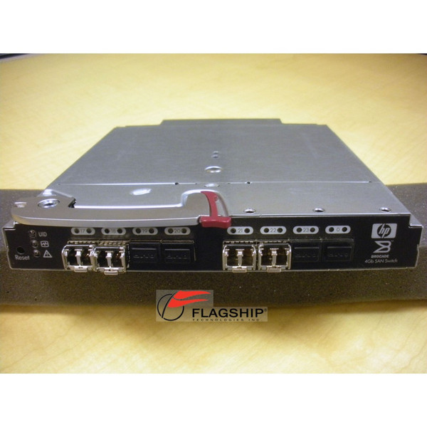 HP AE372A 411121-001 BLc Brocade 4/24 4Gb FC SAN Switch