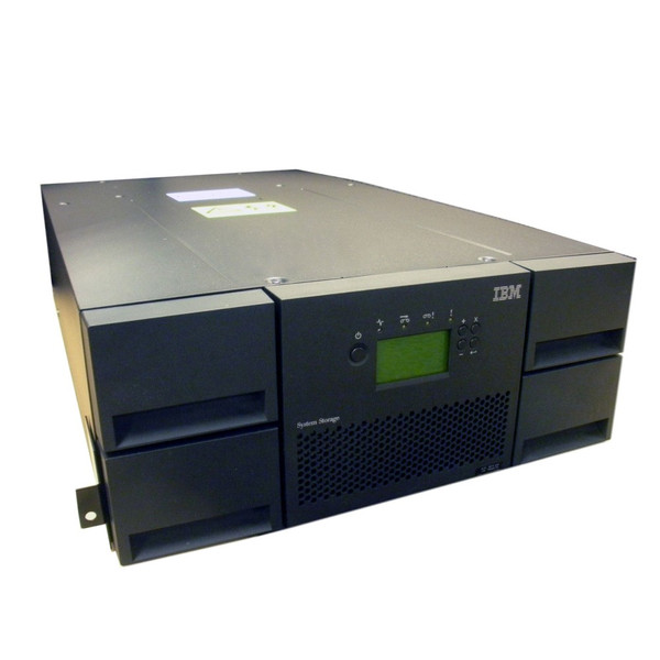 IBM 3573-L4U TS3200 Tape Library w/ 1682 48 Slot No Drives Multi Platform Support via Flagship Tech