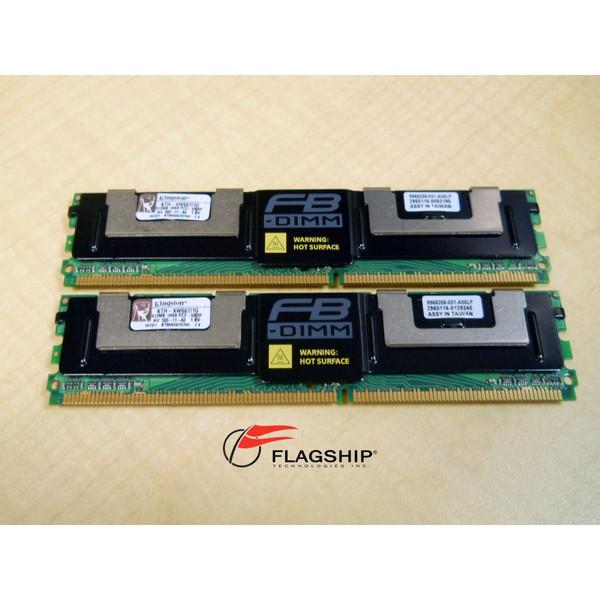 KINGSTON KTH-XW667/1G 1GB (2x 512MB) PC2-5300 Memory Kit
