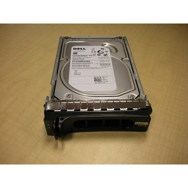 "1TB 7.2K RPM 3.5"" SATA 3Gbps Hard Drive Dell 8CGTN Seagate ST31000524NS"