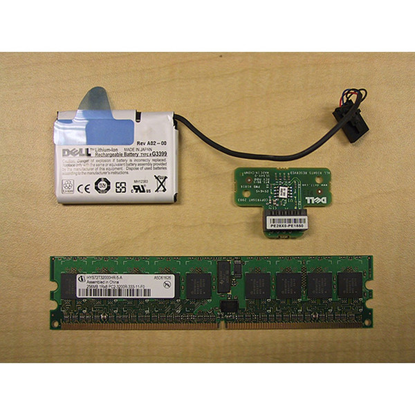 Dell PowerEdge 2800 PERC 4 RAID Key Kit & Battery H1813 F6928 X6347