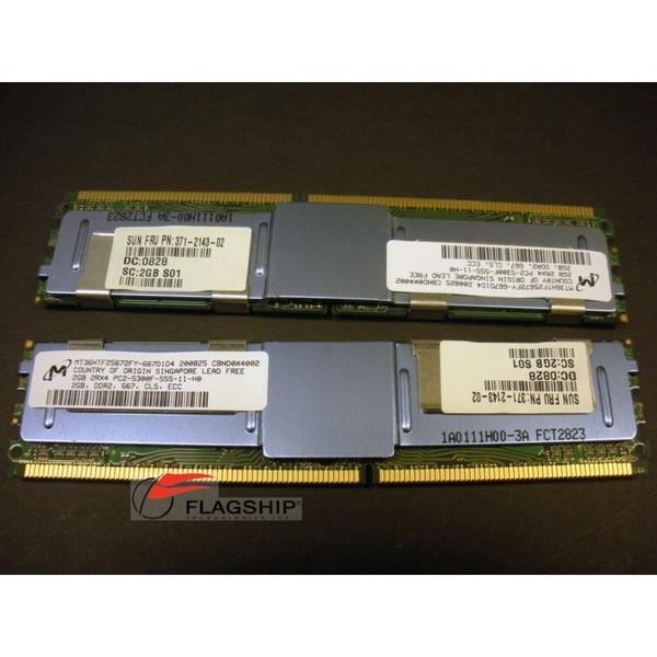 Sun SESX2B1Z / X4203A 4GB (2x 2GB) Memory Kit 501-7953