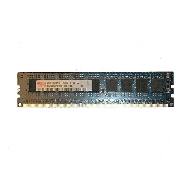 2GB (1x2GB) PC3-10600E 1Rx8 1333MHz Memory RAM DIMM for Dell PT4JW
