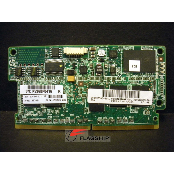 HP 633543-001 2GB Flash-Backed Write Cache (FBWC) Module for P420, P421