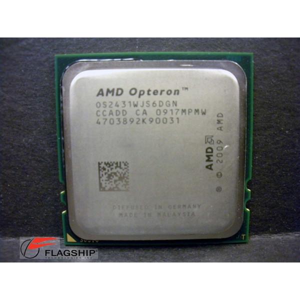 Sun 371-4680 (X5381A) 2.4GHz 6-Core AMD Opteron 2431 CPU for X4140 X4240 X6240
