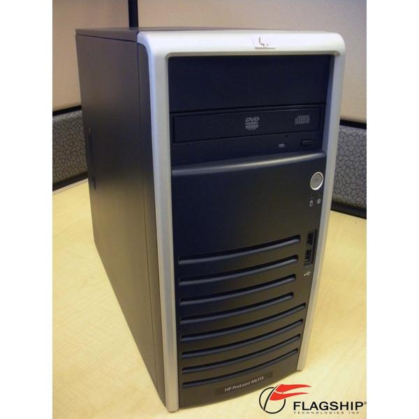 HP 470065-097 ML115 G5 AMD 4450B DC 2.2GHz, 1GB, 160GB SATA US Server