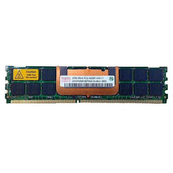 2GB PC2-4200F 533Mhz 2RX4 DDR2 ECC Memory RAM DIMM UW729
