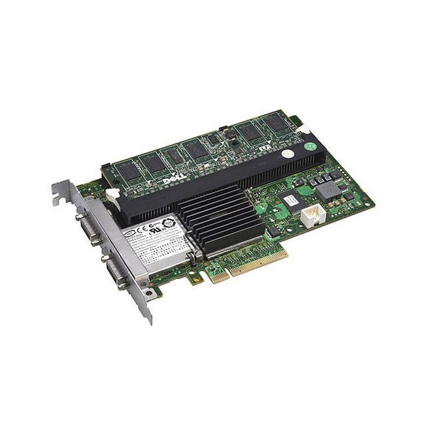 Dell PERC 6/E SAS PCI-E Raid Controller for PowerVault MD1000 Arrays FY374