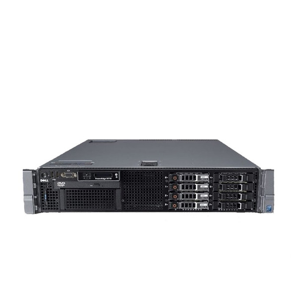 Dell PowerEdge R710 Server 2x 2.66GHz Six-Core X5650 96GB 8x 1TB
