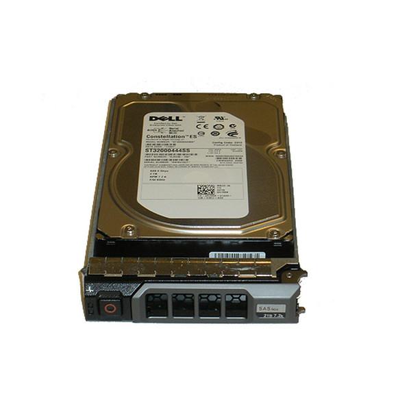 "2TB 7.2K Nearline SAS 3.5"" 6Gbps Hard Drive Dell 1D9NN Seagate ST32000645SS"