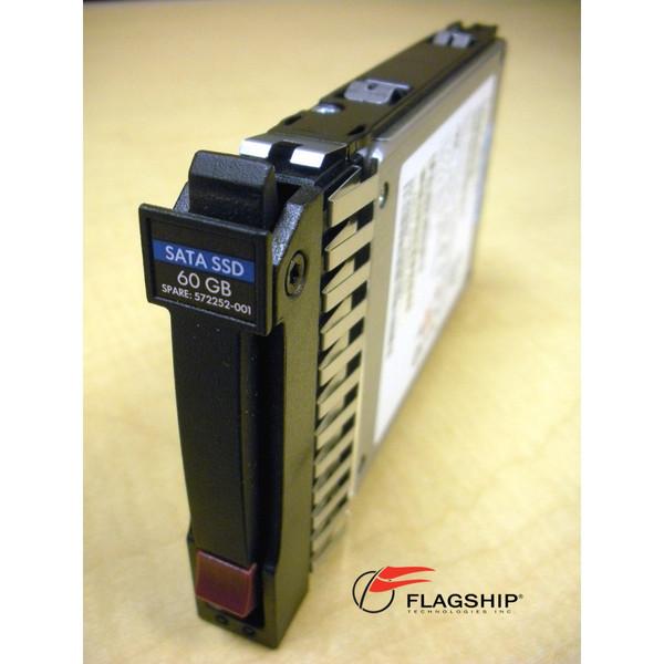 HP 572071-B21 572252-001 60GB 3G SATA SFF SSD