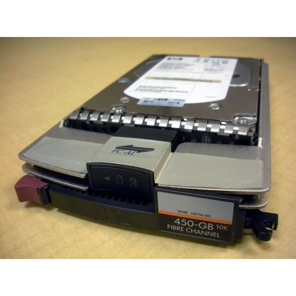 HP AP729B 518736-001 450GB 10K FC EVA Hard Drive via Flagship Tech