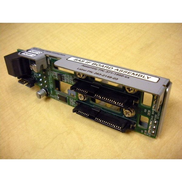 Sun 371-1950 2-Slot SAS Backplane Assembly for Netra 210 via Flagship Tech