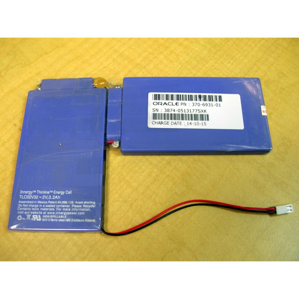 Sun 370-6931 StorEdge 6130 RAID Controller Battery / IBM 24P8062 24P8063 59Y5491 via Flagship Tech