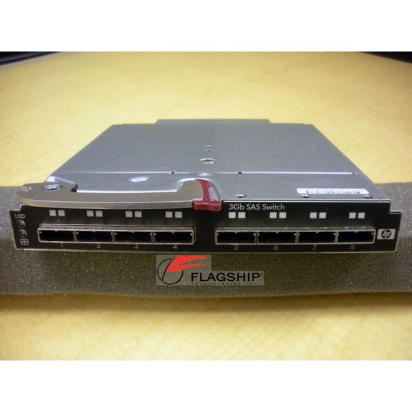 HP AJ864A 451789-001 491684-001 8-Port 3Gb SAS Single Pack Switch for c-Class Blade