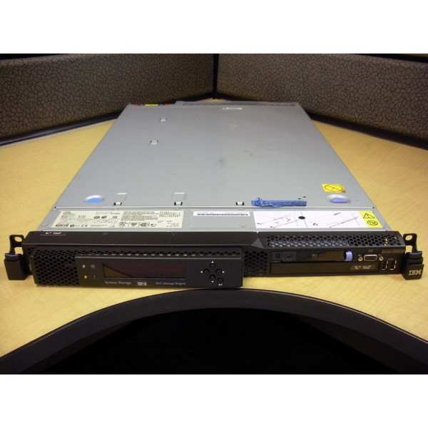 IBM 2145-CF8 x3550-M2 SAN Volume Controller (SVC) Storage Engine via Flagship Tech