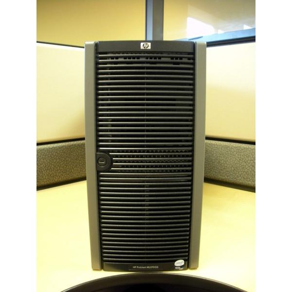 HP 458341-001 ML370 T05 X5450 (2P) QC, 4GB, P400/512 via Flagship Tech