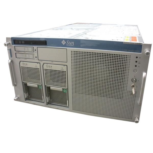 Sun M4000 4x 2.66GHz QC SPARC64 VII+, 541-4359 Motherboard, 64GB, 146GB 10K SAS Server w/ Rack Kit