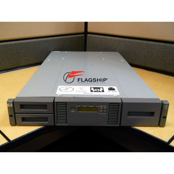 HP AK379A 407351-001 MSL2024 0-DRV 24 SLOT LIBRARY