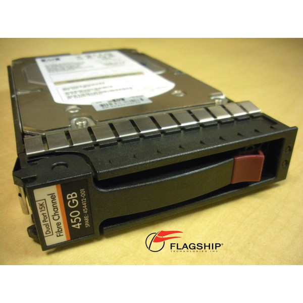 HP 454412-001 AG803A AG803B 450GB 15K 4Gb DP FC LFF M6412 EVA Hard Drive