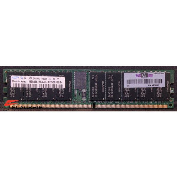 AB566BX HP 4GB DDR2 PC2-5300  Memory DIMM photo