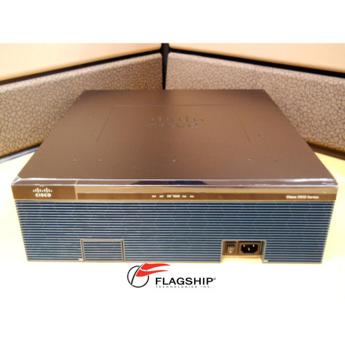 CISCO CISCO3945/K9, 3 GE, C3900-SPE150/K9, 256MB CF, 1 GB DRAM, IP Base