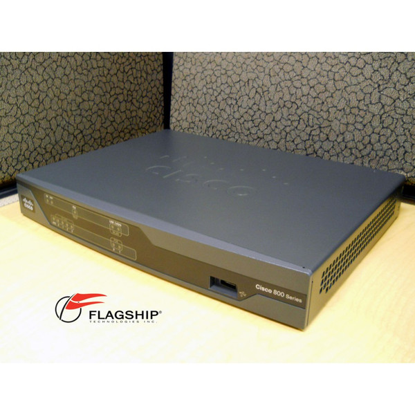 CISCO881-K9, Cisco 881 Ethernet Security Router with Power Adapter