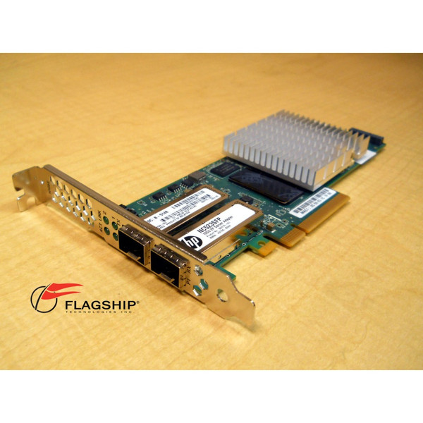 HP 593717-B21 NC523SFP DUAL PORT 10GBE SERVER ADAPTER