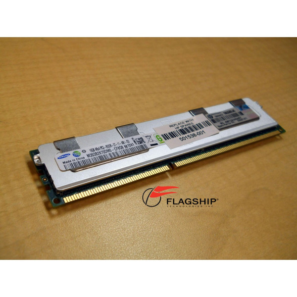 HP 500666-B21 501538-001 500207-071 16GB 4Rx4 DDR3 PC3-8500R-7 Memory Kit